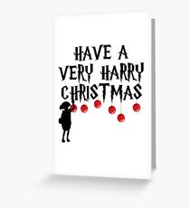 Have a Very Harry Christmas Greeting Card