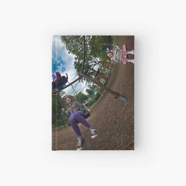 6 Seater Swing - Sky In Hardcover Journal