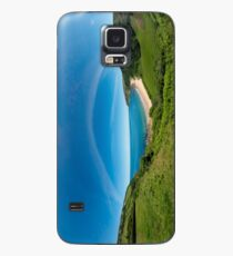 Kinnagoe Bay Panorama Case/Skin for Samsung Galaxy