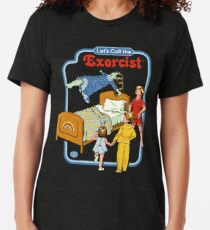 Let's Call the Exorcist Tri-blend T-Shirt