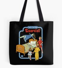 Let's Call the Exorcist Tote Bag