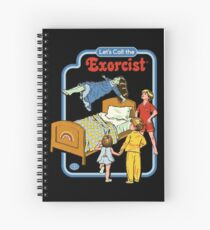 Let's Call the Exorcist Spiral Notebook