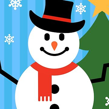 Snowman Merry Christmas by believeluna