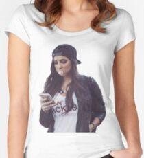 Gabbie Hanna - Cool Women's Fitted Scoop T-Shirt