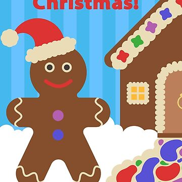 Gingerbread Merry Christmas by believeluna