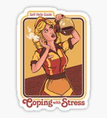Mit Stress umgehen Sticker