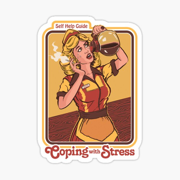 Coping With Stress Sticker