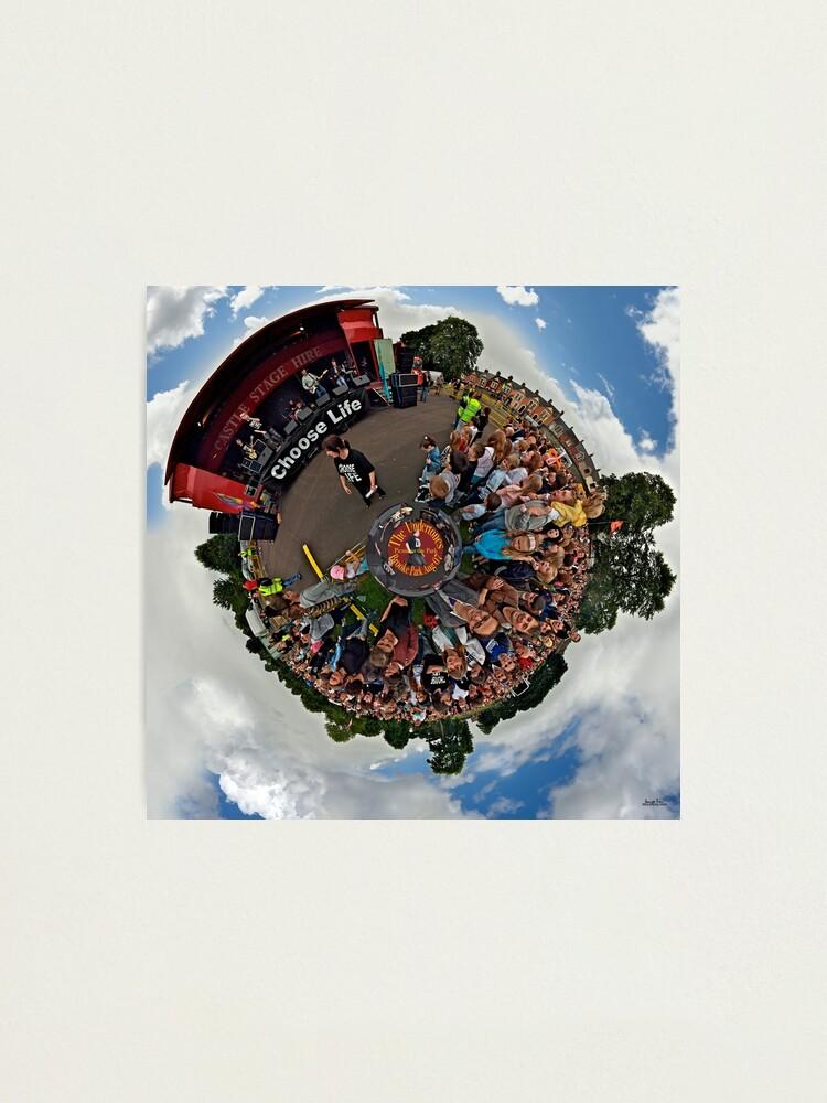 Alternate view of Teenage kicks - The Undertones play Brooke Park Photographic Print
