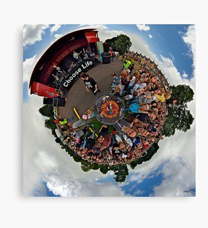 Teenage kicks - The Undertones play Brooke Park Canvas Print