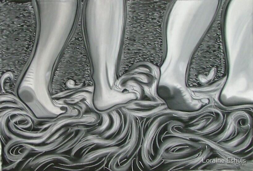 """Walk on water"" by Loraine Eshuis"