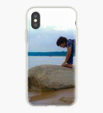 Rock Crawling Boy iPhone Case