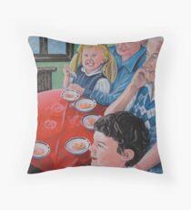 Tasmanian Apricots Throw Pillow