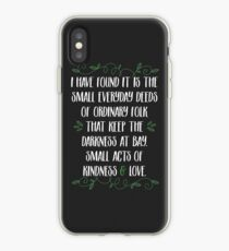 Words of wisdom from Gandalf iPhone Case