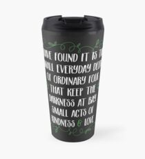 Words of wisdom from Gandalf Travel Mug