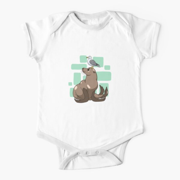 Shore Thing Short Sleeve Baby One-Piece