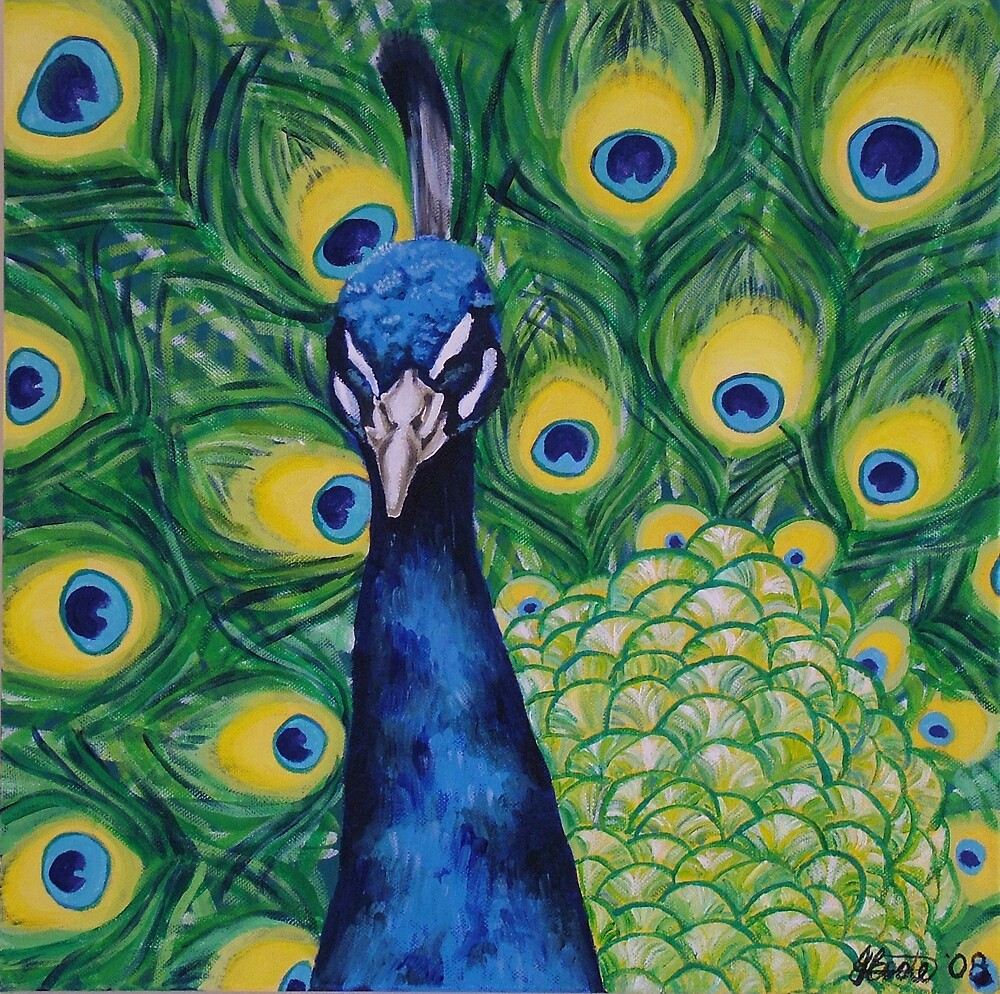 Seductive Peacock by Jacqui Coote
