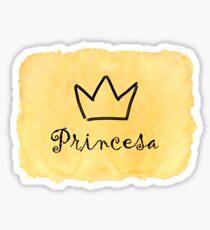 Princesa Sticker