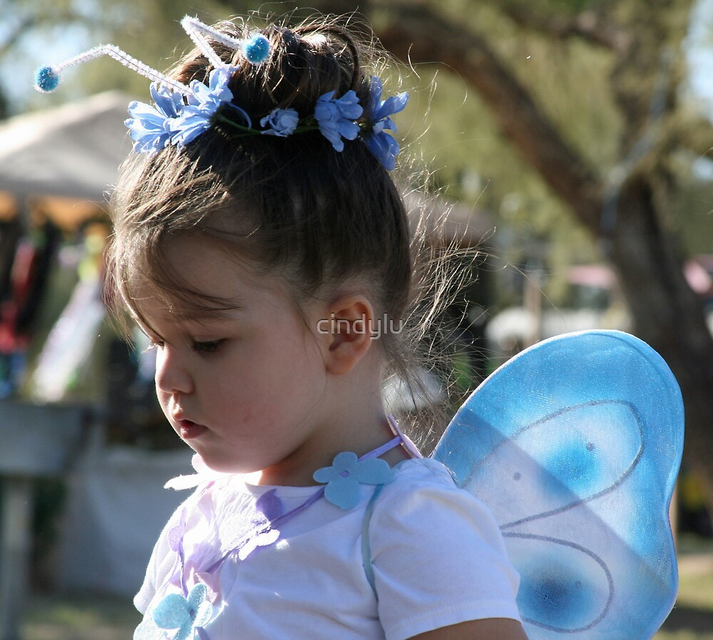 Little Blue Fairy by cindylu