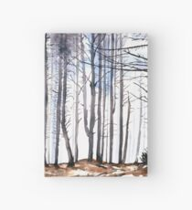 The colour of Winter is in the imagination Hardcover Journal