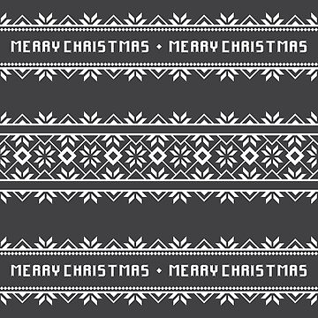 Ugly Sweater Pattern - Merry Christmas by crazycanonmom
