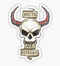 D&D - Warlock - Pacts And Patrons Sticker