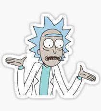 Rick What? Sticker