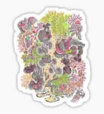 The Treetops Sticker