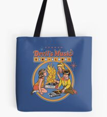 Devil's Music Sing-Along Tote Bag
