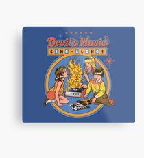Lienzo metálico Devil's Music Sing-Along