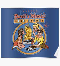 Devil's Music Sing-Along Poster