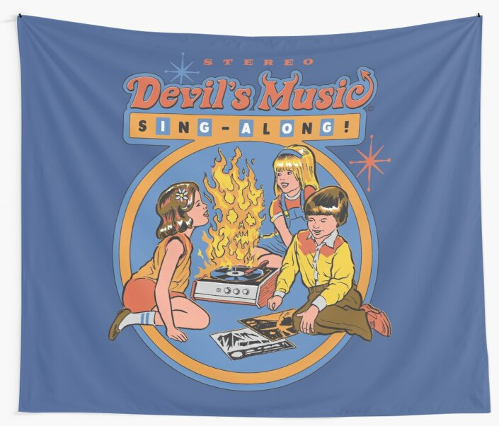 Devil's Music Sing-Along by Steven Rhodes