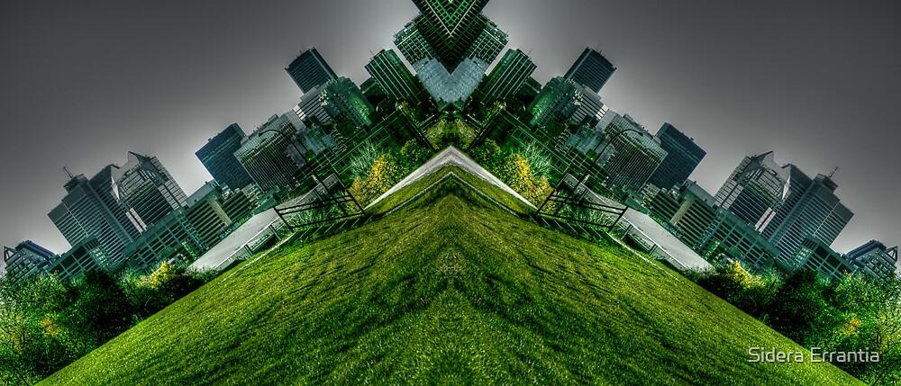 V-shaped World by Sidera Errantia