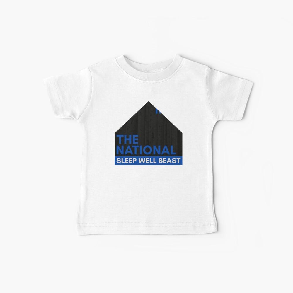 The National - Sleep Well Beast Camiseta para bebés