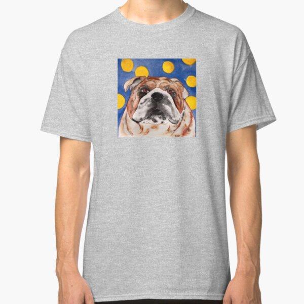 Button the Bull Dog Classic T-Shirt