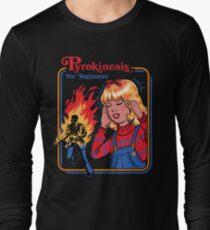 Pyrokinesis for Beginners Long Sleeve T-Shirt