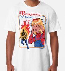 Camiseta larga Pyrokinesis para principiantes