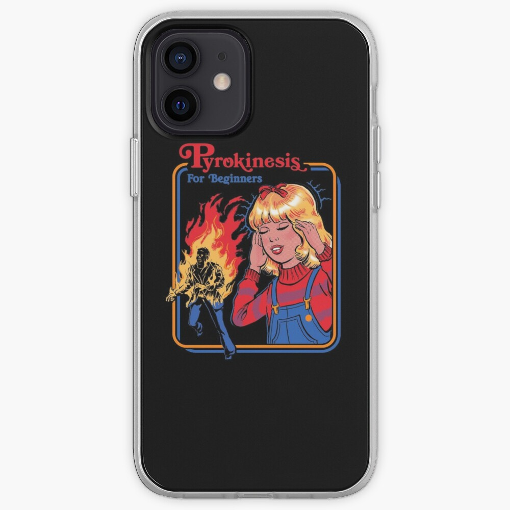 Pyrokinesis for Beginners iPhone Case & Cover