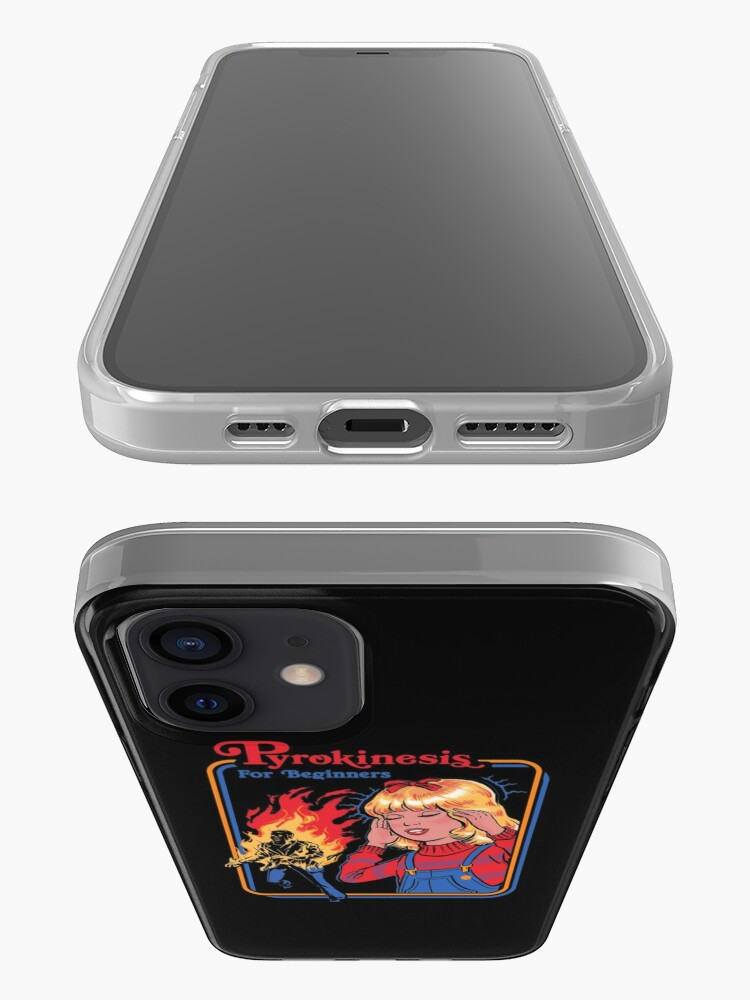 Alternate view of Pyrokinesis for Beginners iPhone Case & Cover