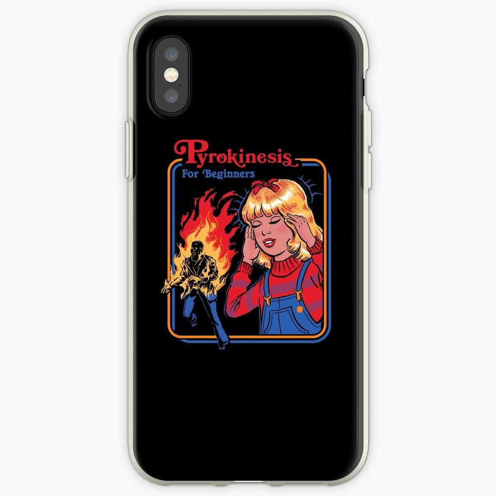 Pyrokinesis para principiantes Funda y vinilo para iPhone