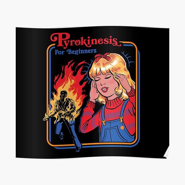 Pyrokinesis for Beginners Poster