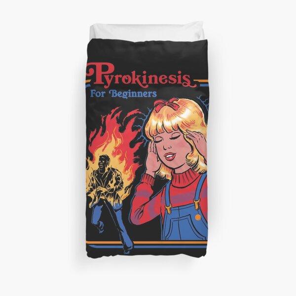 Pyrokinesis for Beginners Duvet Cover