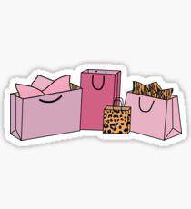 Drucken Einkaufstaschen Sticker