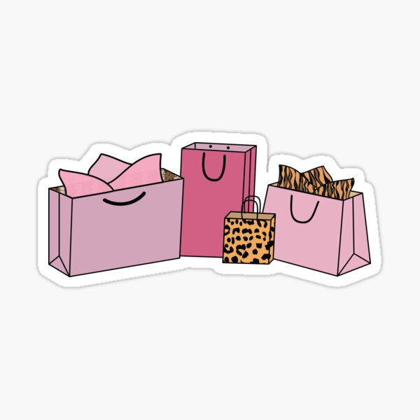 Print Shopping Bags Sticker