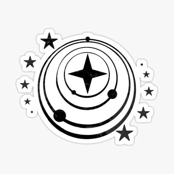 Elite gefährlich - Föderation Sticker