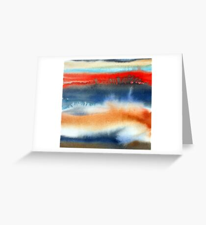 light and time Greeting Card