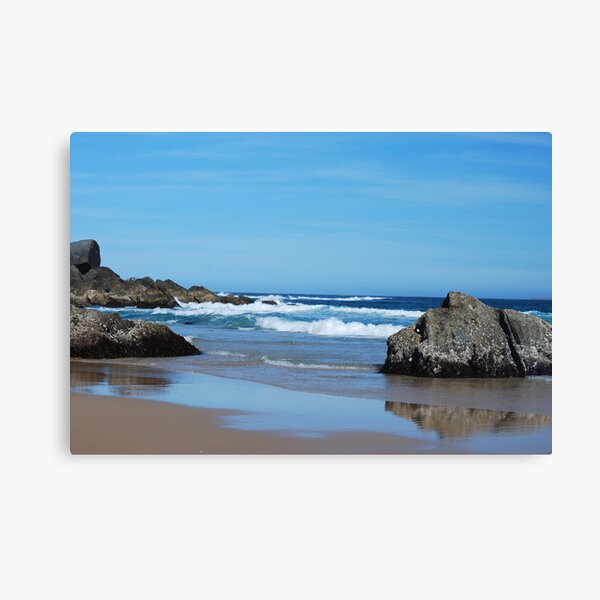 Low Tide - Redhead Beach NSW Canvas Print