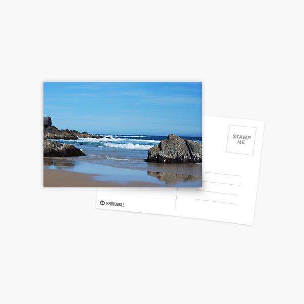 Low Tide - Redhead Beach NSW Postcard