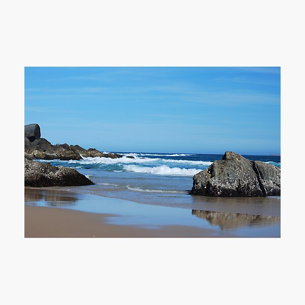 Low Tide - Redhead Beach NSW Photographic Print