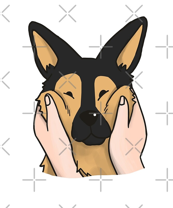 Must see German Shepherd Chubby Adorable Dog - flat,800x800,070,f  Trends_343818  .jpg
