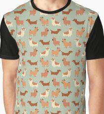 Camiseta gráfica ¡Perros!